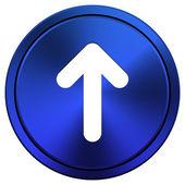 Up arrow icon — Stockfoto