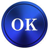 OK icon — Stock Photo