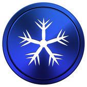 スノーフレークのアイコン — ストック写真