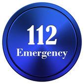 112 Emergency icon — Stock Photo