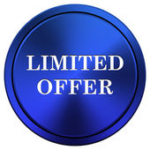 Limited offer icon — Foto Stock