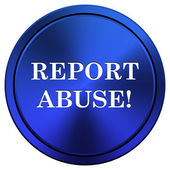 Report abuse icon — Stockfoto