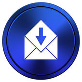 Receive e-mail icon — Foto de Stock