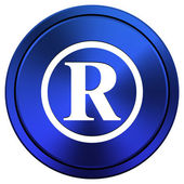 Registered mark icon — Stock Photo