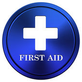 First aid icon — Stock Photo