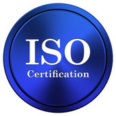 ISO certification — Foto Stock
