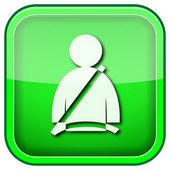 Bilbälte ikonen — Stockfoto