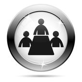 Meeting room icon — Foto Stock