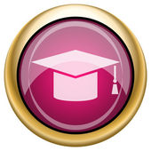 Graduation icon — Foto Stock