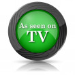 As seen on TV icon — Stock Photo #35404375