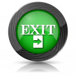 Exit icon — Stock Photo #35404581