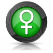 Female sign icon — Stock Photo #35405095
