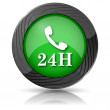 24H phone icon — Stock Photo #35405551