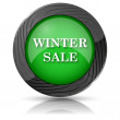 Winter sale icon — Stockfoto