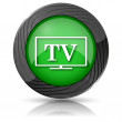 TV icon — Foto Stock