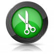 Cut icon — Stock Photo