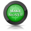 Make money icon — Stock Photo #35407875