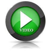 Video play icon — Stockfoto
