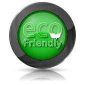 Экологический дружественный символ — Стоковое фото