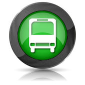 Bus icon — Foto de Stock