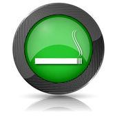 Cigareta ikona — Stock fotografie
