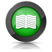 Book icon — Foto Stock