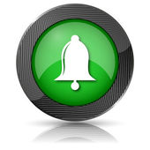 Bell icon — Stock Photo