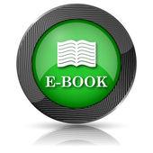 E-book icon — Foto de Stock