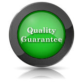 Quality guarantee icon — Stock Photo