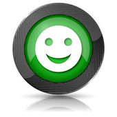 Smiley icon — Stockfoto