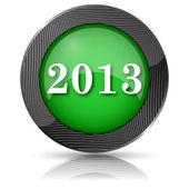 2013 icon — Stock Photo