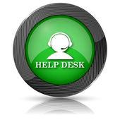 Helpdesk-ikonen — Stockfoto