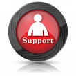 Support icon — Stock Photo