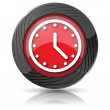 Clock icon — Stock Photo #35474497