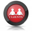 Clients icon — Stock Photo #35475567