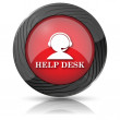 Stock Photo: Helpdesk icon