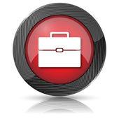 Briefcase icon — Stock Photo