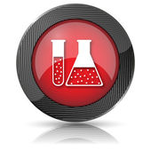Chemistry set icon — Stock Photo