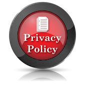 Icono de la política de privacidad — Foto de Stock