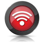 Wireless sign icon — Stock Photo