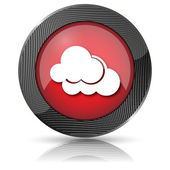 Clouds icon — Stock Photo