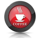 コーヒー カップ アイコン — ストック写真