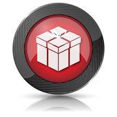 Gift icon — Stock Photo