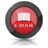 E-book-ikonene 本のアイコン — ストック写真