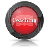 Coaching icon — Stock Photo