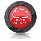 Cloud computing icon — Stockfoto