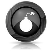 Bomb icon — 图库照片