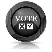 Hlasování ikona — Stock fotografie