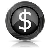 Dollar icon — Stockfoto
