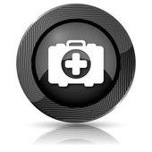 Medische zak pictogram — Stockfoto